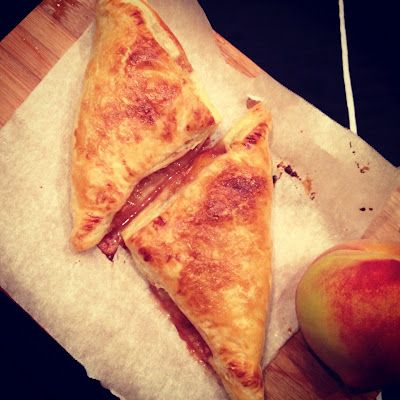Easy Summer Peach Turnovers | Sweet treats | Pinterest