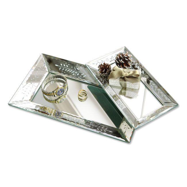 Decorative Mirror Trays / Venetian Mirrored Trays -- Orvis