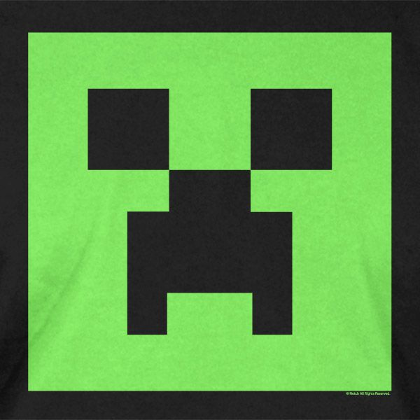 More like this:... Minecraft Creeper Head