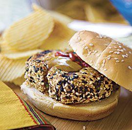 salmon burger recipes