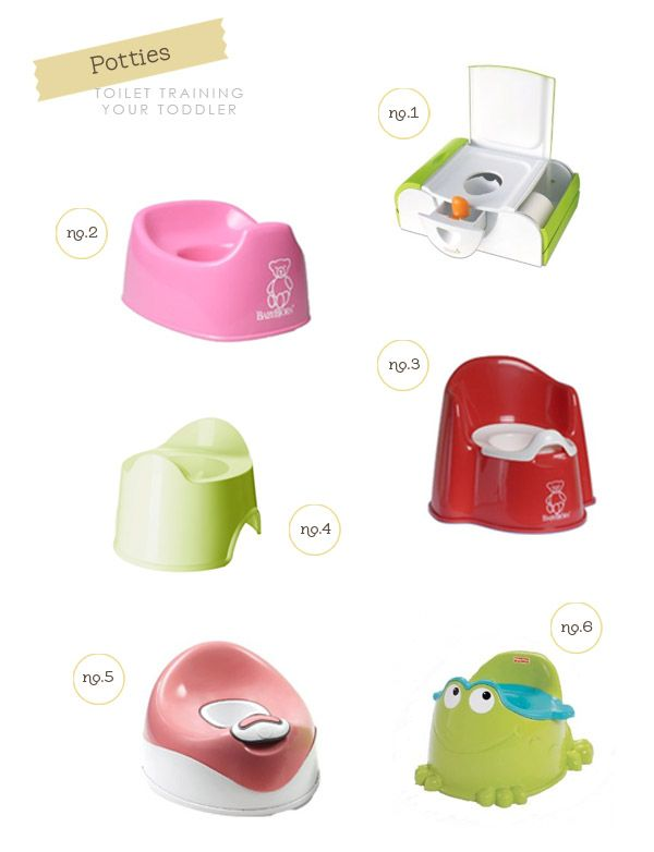 Potty training potties for boys