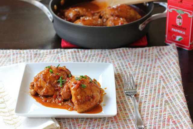 The Lucky Penny Blog: Braised Paprika Chicken