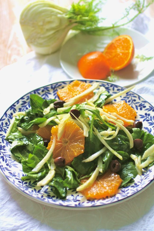 This recipe for Sicilian Fennel and Orange Salad is delightful. The ...