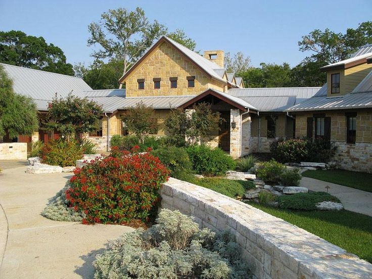 Texas Hill Country Style Home Texas Hill Country Homes