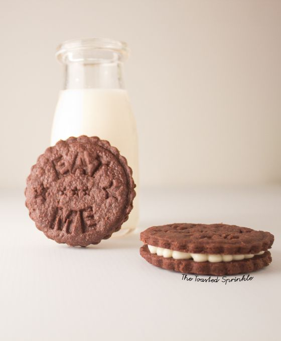 fauxreos and milk | Cookies (Easy to Veganize) | Pinterest