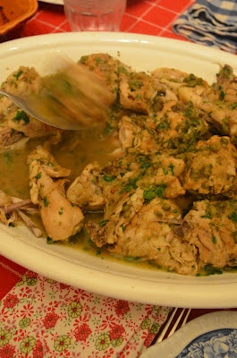 braised chicken with capers and parsley. | amour fou(d) | Pinterest
