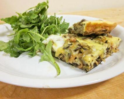 Artichoke and Mushroom Frittata Recipe | Egg Recipes