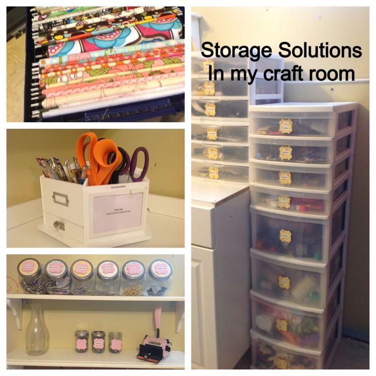Storage solutions in my craft room studio organizing for Storage solutions for craft rooms
