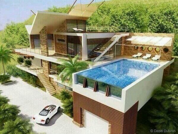 Roof pool dream house pinterest for Dream roof