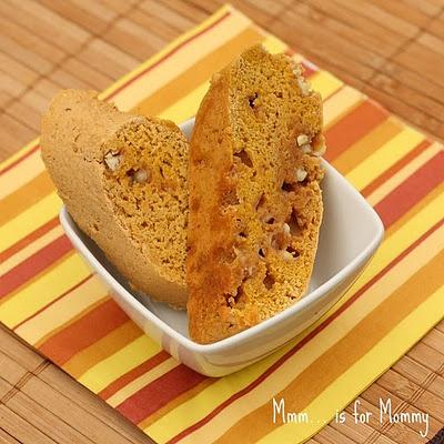 pumpkin spice & wht chocolate biscotti | C is for cookie | Pinterest
