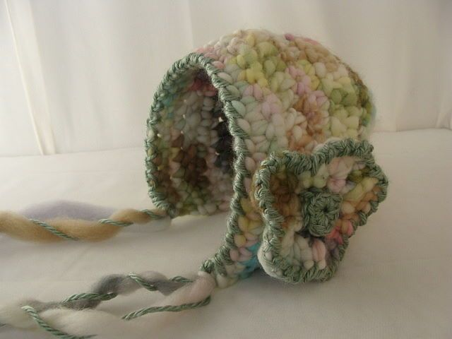 Crochet Baby Bonnet Pattern : crochet bonnet pattern Cute crochet hat patterns for ...