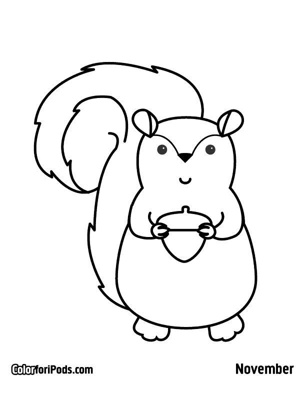 kawaii coloring pages mamegoma images - photo#50