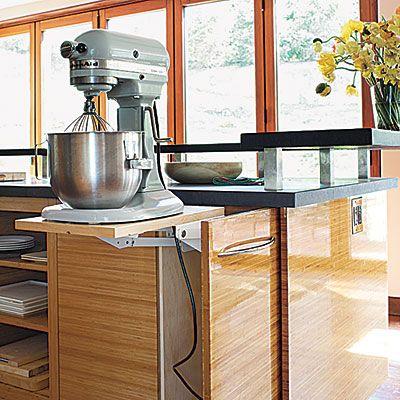 Pop Up Storage Kitchens Pinterest
