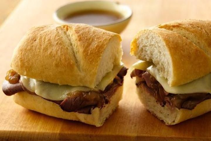 Easy French Dip Sandwiches Recipe | Recipes | Pinterest