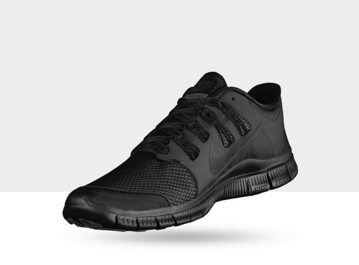 Nike Free 5.0 Womens All Black