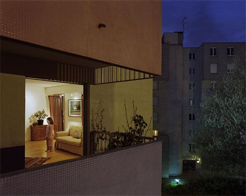 lovely night-time photos by Ambroise Tézenas