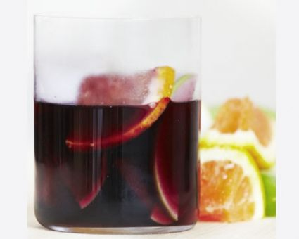 Red Spring Sangria Recipe | Party ideas | Pinterest
