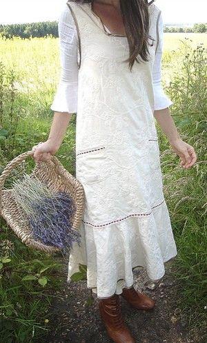 Lavender gathering