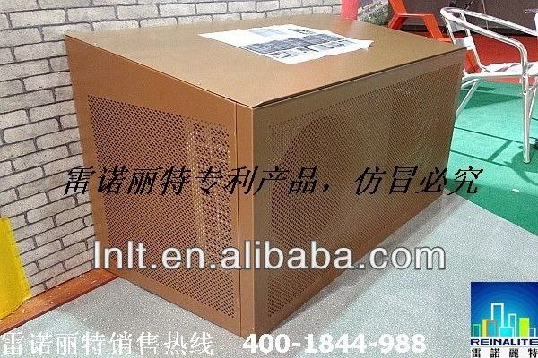 Air conditioner shade cover