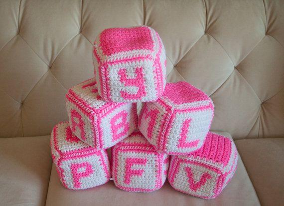 Crochet Patterns A To Z : Crochet Alphabet Blocks (A to Z) Pattern