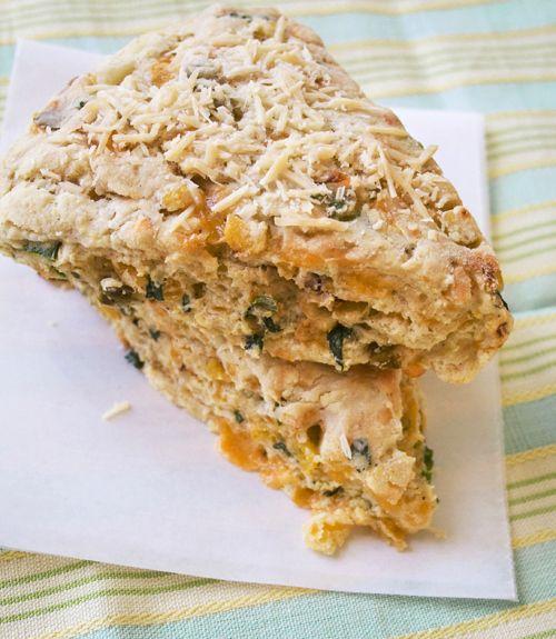 Jalapeno Cheddar Herb Scones | Food | Pinterest