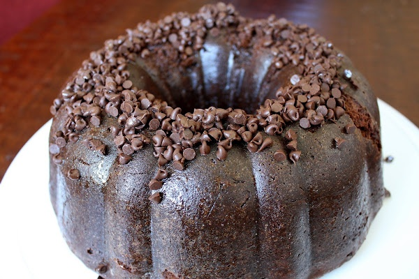 Chocolate Sour Cream Bundt Cake | Desserts Sinful | Pinterest