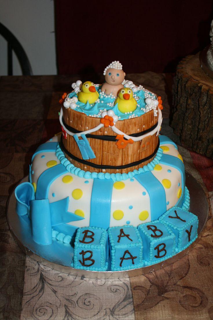 Rubber Duck baby shower cake by Tessa Glasgow. www.facebook.com ...