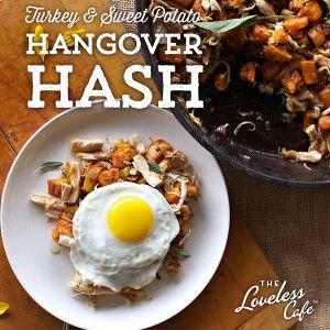 """... for a #Thanksgiving """"hangover:"""" Turkey & Sweet Potato Hango..."""