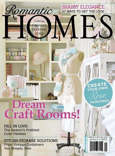 Romantic Homes Magazine October 2013
