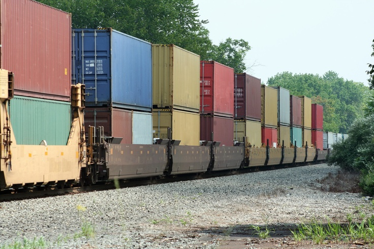 Rail Container   Shipping   Pinterest