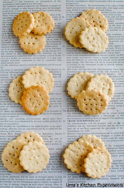 Homemade Ritz Crackers ~ My Kitchen Experiments - http ...