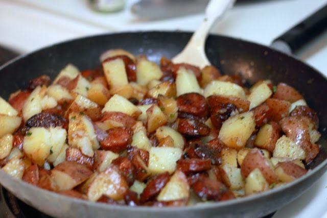 One Pot Smoked Sausage and Potatoes | Yummmmy | Pinterest