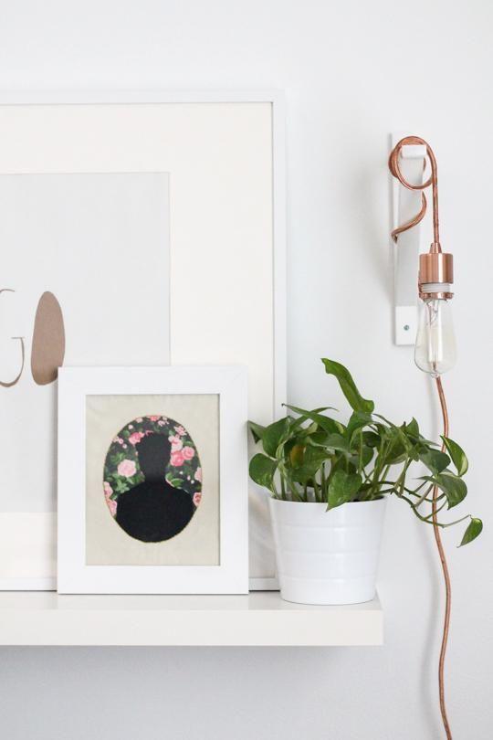 Lamparas de cobre. Esta vez...un fantastico DIY para un toque brillate a tu decoracion