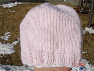 free knitting pattern basic baby hat 4mm needle