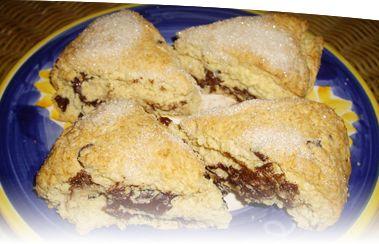 Chocolate-Hazelnut Marble Cake Scones   My love for Vegan food!   Pin ...
