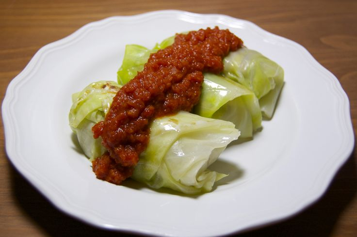 Vegan Cabbage Rolls | Girl Makes Food- made with Tempeh