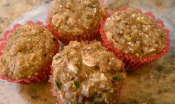 The Best Oatmeal Zucchini Muffins by Ideal Protein........ Ingredients:  1 Ideal Protein Maple Oatmeal Packet 1 Egg – beaten 1/2 tsp Baking Powder Pinch of Salt 1 tsp of Stevia 1-1/2 tsp Cinnamon 1/2 – 3/4 of small zucchini finely grated. you may need to squeeze out the extra juice.