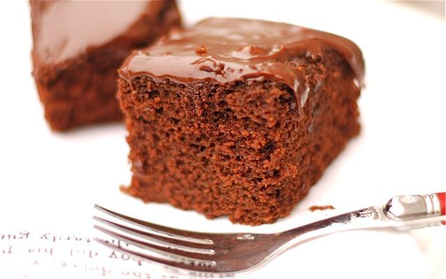 Spicy, Rich Mexican Chocolate Cake