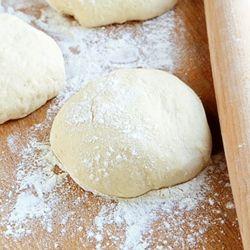 Simple No Knead Pizza Dough   Favorite Recipes   Pinterest