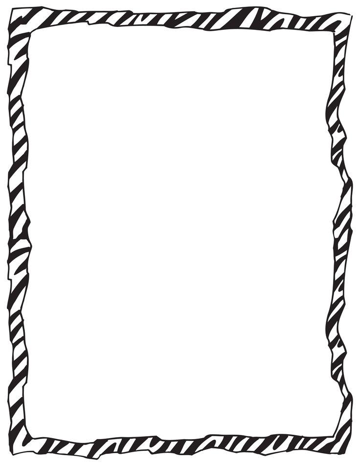 Zebra borderZebra Border