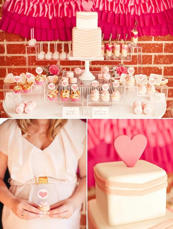 Valentine's Baby Shower