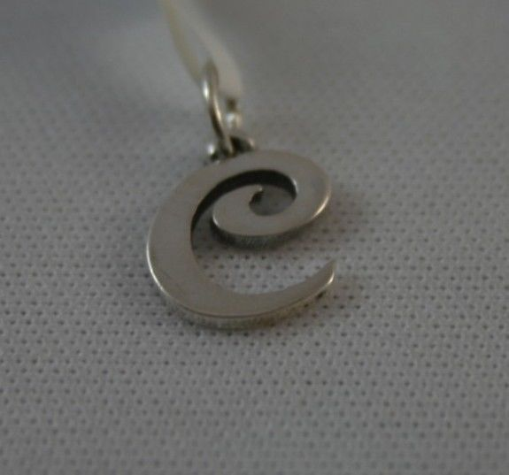 james avery sterling silver letter quotcquot pendant charm With letter c charm james avery