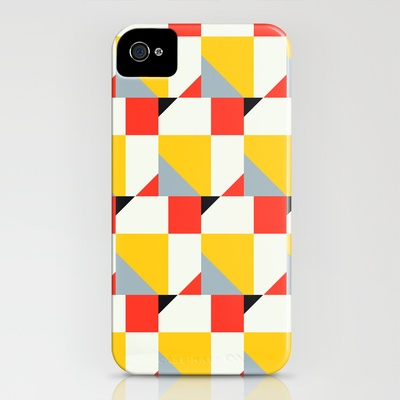 Crispijn Pattern iPhone Case by Stoflab - $35.00