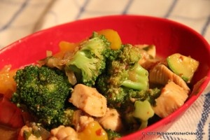 Spicy Chicken Broccoli Stir-fry | Food that Looks Fabulous | Pinterest