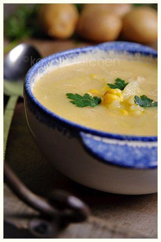 corn, potato chowder | SOUP, STEW & CHOWDER | Pinterest