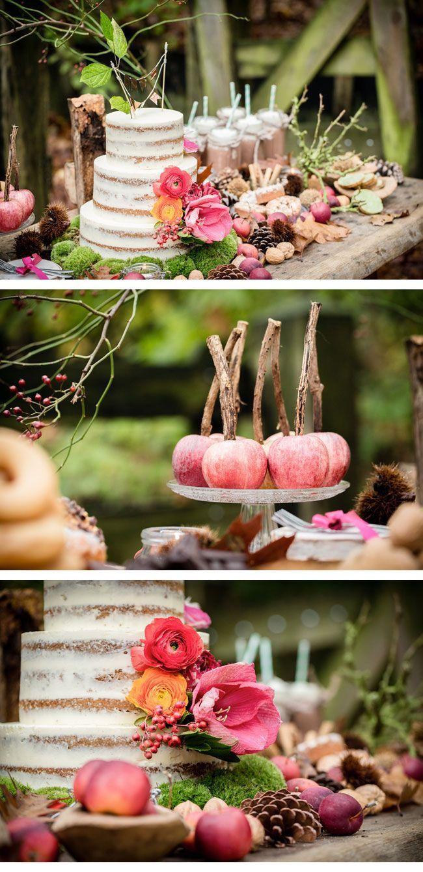 herbst waldshooting4-hochzeitstorte  Wedding Ideas!  Pinterest