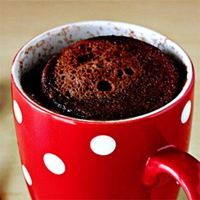 Five-Minute Chocolate Mug Cake Recipe — Dishmaps