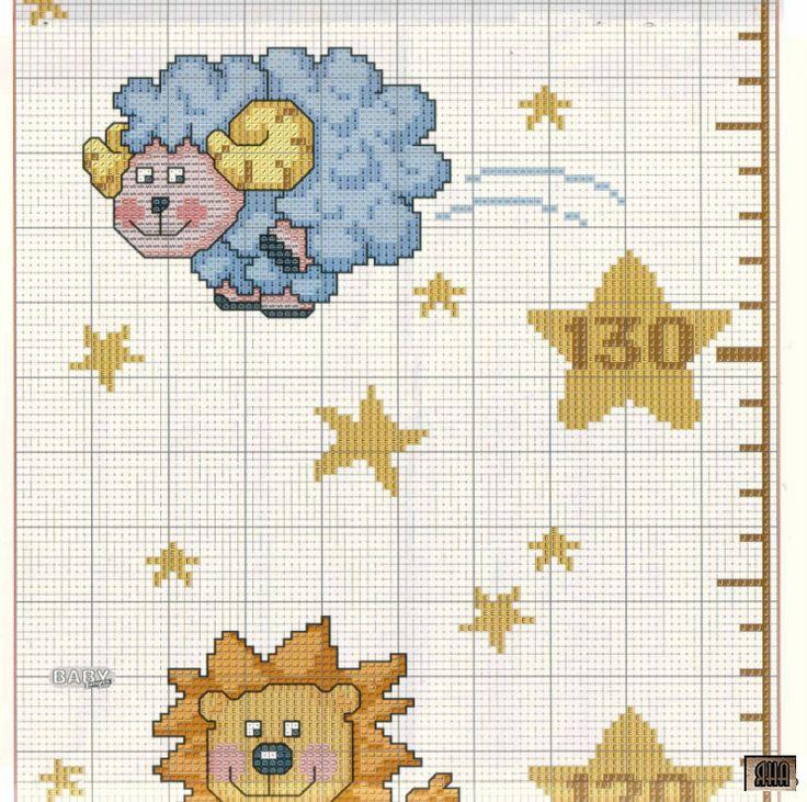 Звезды схемы вышивки 26