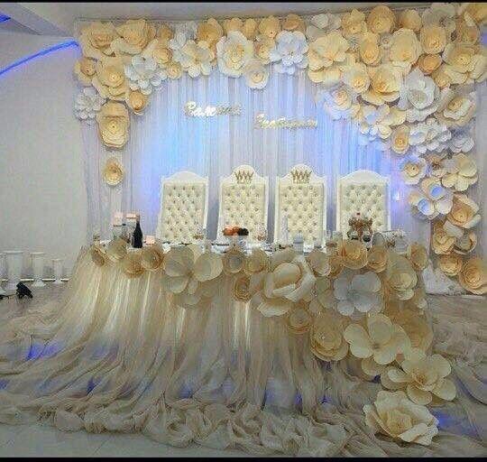 Украшения на свадьбу для зала в аренду