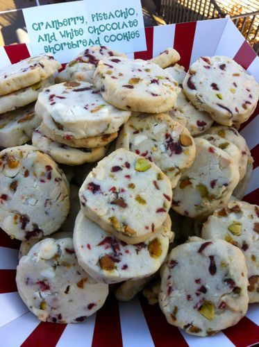 ... , Pistachio, and White Chocolate Shortbread Cookies. Cookie exchange